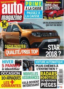 Auto Magazine N°9 – Octobre-Novembre, 2017 [PDF]