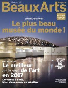 Beaux Arts Magazine N°402 – Décembre, 2017 [PDF]