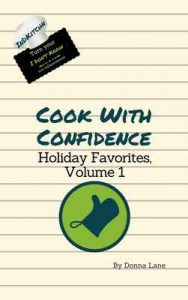 Cook With Confidence: Holiday Favorites, Volume 1 – Donna Lane [ePub & Kindle] [English]