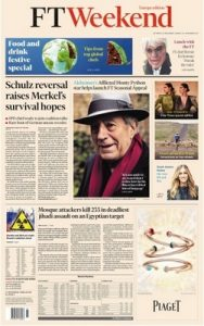 Financial Times Weekend – 25 November, 2017 [PDF]