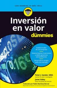Inversión en valor para Dummies – Peter J. Sander, Janet Haley [ePub & Kindle]