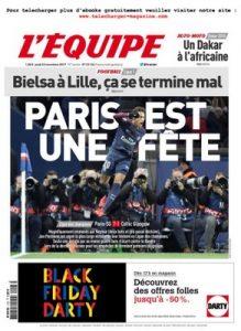 L'Equipe Du Jeudi 23 Novembre, 2017 [PDF]
