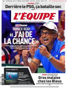 L'Equipe Du Mardi 28 Novembre, 2017 [PDF]
