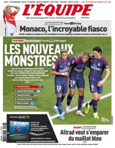L'Equipe Du Mercredi 22 Novembre, 2017 [PDF]