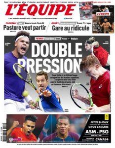 L'Equipe Du Samedi 25 Novembre, 2017 [PDF]