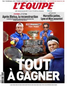 L'Equipe Du Vendredi 24 Novembre, 2017 [PDF]