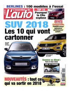 L'Essentiel De L'Auto N°115 – Décembre 2017-Janvier, 2018 [PDF]