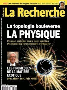 La Recherche N°530 – Décembre, 2017 [PDF]