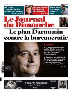 Le Journal Du Dimanche N°3698 Du 26 Novembre, 2017 [PDF]