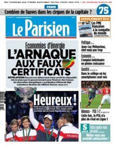 Le Parisien Du Lundi 27 Novembre, 2017 [PDF]