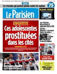 Le Parisien Du Vendredi 24 Novembre, 2017 [PDF]