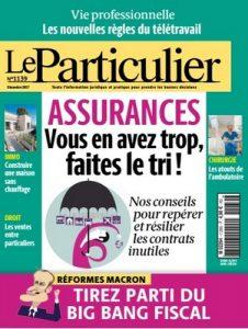 Le Particulier N°1139 – Décembre, 2017 [PDF]