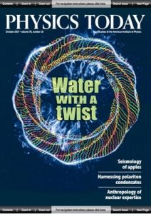 Physics Today – October, 2017 [PDF]