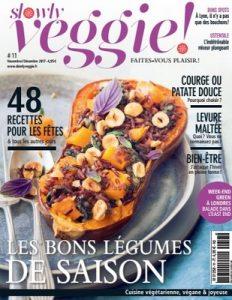 Slowly Veggie N°11 – Novembre-Décembre, 2017 [PDF]