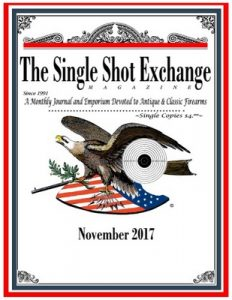 The Single Shot Exchange – November, 2017 [PDF]