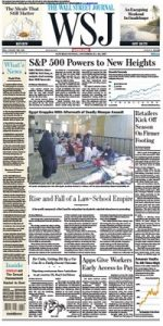 The Wall Street Journal – November 25, 2017 [PDF]