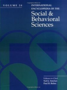 International Encyclopedia of the Social & Behavioral Sciences – N. J. Smelser, P. B. Baltes [PDF] [English]