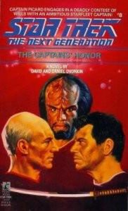 Star Trek: The Next Generation – 008 – The Captain's Honor – David Dvorkin, Daniel Dvorkin [ePub & Kindle] [English]