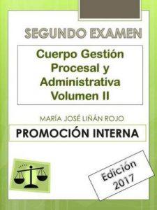 Temario Cuerpo Gestión Procesal y Administrativa (Segundo Examen) Vol. II: Promoción Interna – María José Liñán Rojo [ePub & Kindle]