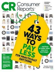 Consumer Reports – February, 2018 [PDF]