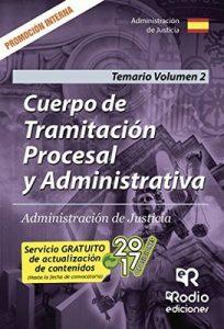 Cuerpo de Tramitación Procesal y Administrativa. Administración de Justicia. Promoción Interna. Temario Volumen 2 – José María Aguilera Ramos [ePub & Kindle]