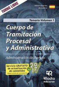 Cuerpo de Tramitación Procesal y Administrativa. Administración de Justicia. Temario Volumen 1 – José María Aguilera Ramos [ePub & Kindle]