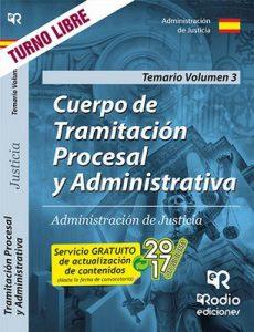 Cuerpo de Tramitación Procesal y Administrativa. Administración de Justicia. Temario Volumen 3 – José María Aguilera Ramos [ePub & Kindle]