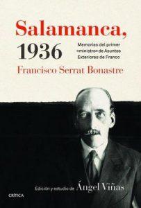 """Salamanca, 1936: Memorias del primer """"ministro"""" de Asuntos Exteriores de Franco – Ángel Viñas [ePub & Kindle]"""