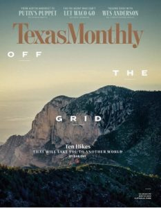 Texas Monthly – April, 2018 [PDF]