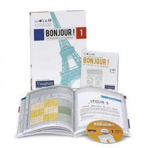 Bonjour ! el francés a su alcance (102 CDs) (Vaughan) [mp3]