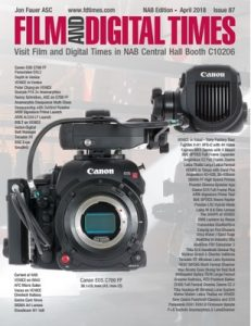 Film and Digital Times – April, 2018 [PDF]