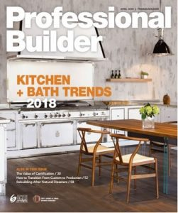 Professional Builder – April, 2018 [PDF]