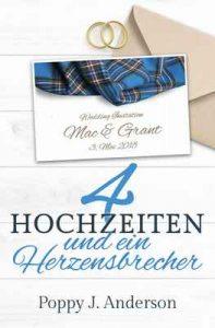 Vier Hochzeiten und ein Herzensbrecher (Just married 3) – Poppy J. Anderson [ePub & Kindle] [German]