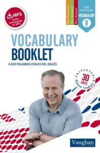 Vocabulary Booklet pocket – Richard Vaughan [ePub & Kindle]