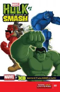 Marvel Universe Hulk: Agents Of S.M.A.S.H. (2013-2014) #1 – Paul Dini [ePub & Kindle] [English]