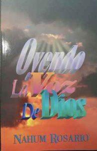 Oyendo la Voz de Dios – Nahum Rosario [ePub & Kindle]