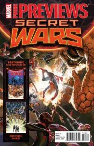 Secret Wars May Previews (Marvel Previews) – V. A. [ePub & Kindle] [English]