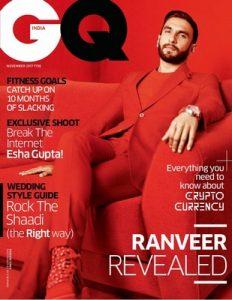 GQ India – November, 2017 [PDF]