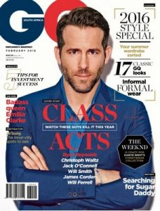 GQ Magazine South Africa – February, 2016 [PDF]