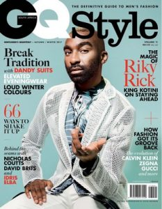 GQ Style South Africa – Volume 11 – Autumn-Winter, 2017 [PDF]
