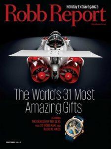 Robb Report – December, 2015 [PDF]