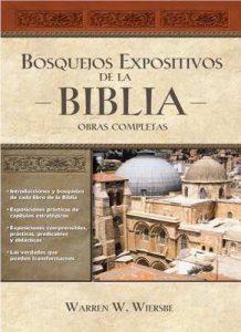 Bosquejos expositivos de la Biblia 5 Tomos en 1 – Warren W. Wiersbe [ePub & Kindle]