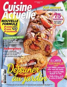 Cuisine Actuelle – Août, 2018 [PDF]
