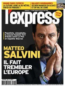 L'Express – 15-21 Août, 2018 [PDF]