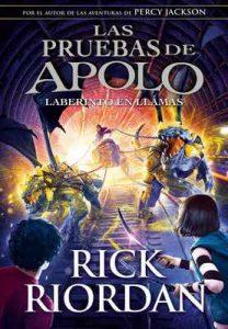 Laberinto en llamas (Las pruebas de Apolo 3) – Rick Riordan [ePub & Kindle]