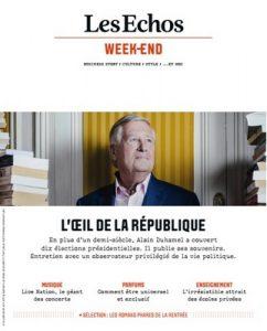Les Echos Week-end – 31 Août, 2018 [PDF]