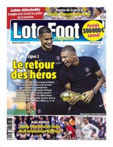 Loto Foot – 15 Août, 2018 [PDF]
