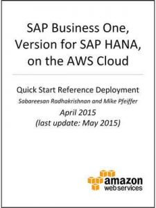 SAP Business One, version for SAP HANA, on AWS (AWS Quick Start) – AWS Whitepapers, Amazon Web Services [ePub & Kindle] [English]