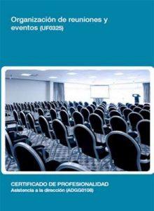 UF0325 – Organización de reuniones y eventos – Rafael Manuel Pérez López [ePub & Kindle]