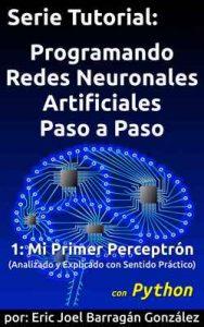 1: Mi Primer Perceptrón con Python: Analizado y Explicado con Sentido Práctico (Programando Redes Neuronales Artificiales Paso a Paso con Python) – Eric Joel Barragán González [ePub & Kindle]